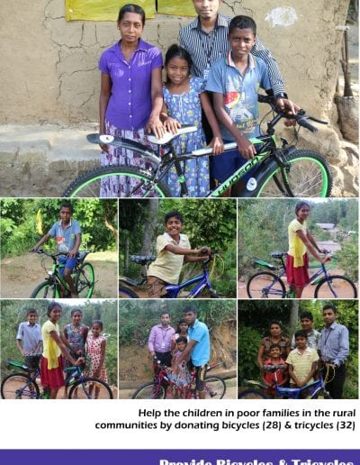 Project 33 bicycle kids