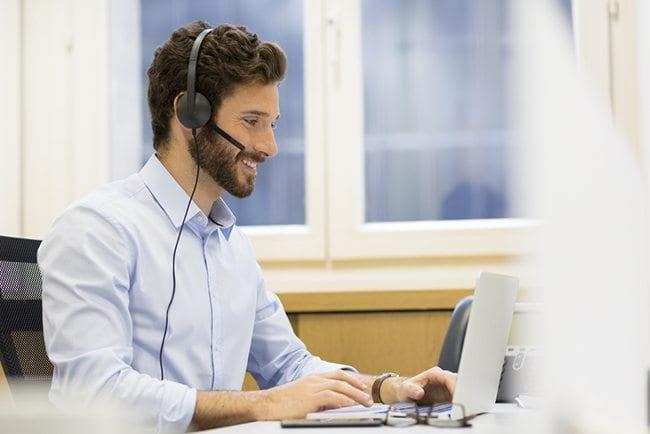 headset wearing 1
